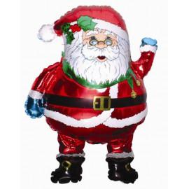 Balon foliový Santa Klaus 76cm