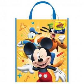 Dárková taška MICKEY MOUSE - plastová 28 x 33,5 cm