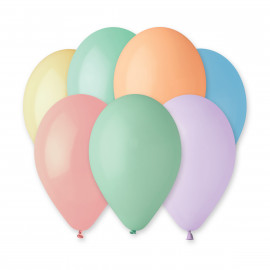 Latexové balonky Mix 10ks Makronky