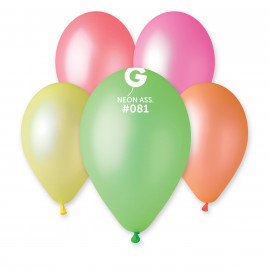 Latexové balonky Mix 10ks Neonové