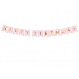 Girlanda-Banner Happy Birthday,15x175cm,
