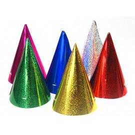 Party kloboučky holografické,1ks