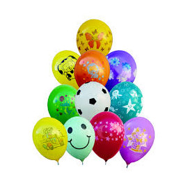Latexové balonky Dětský motiv,26cm,1ks