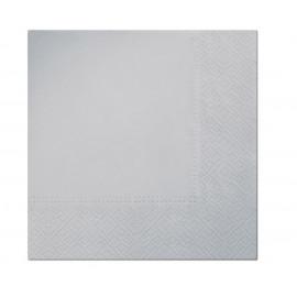 Papírové ubrousky Stříbrné,33x33cm,20ks