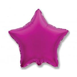 Balon foliový Hvězda Fialová,45cm