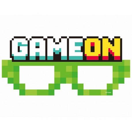 Papirové brýle Minecraft - 6 ks