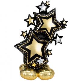 Foliový balonek Stojící-airloonz Stars